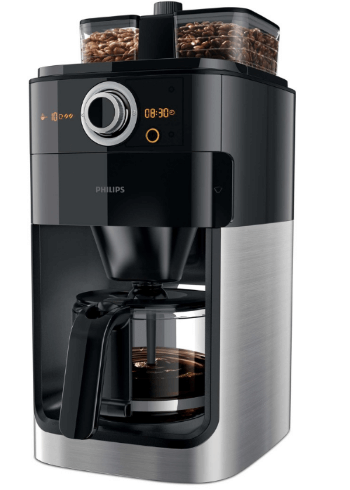 Philips HD7769-00 Grind & Brew kaffemaskine med kværn