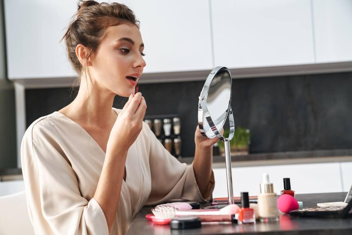 bedste makeup spejl