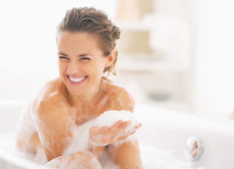 sammenklappeligt badekar