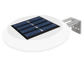 9 LEDs solcellelampe have