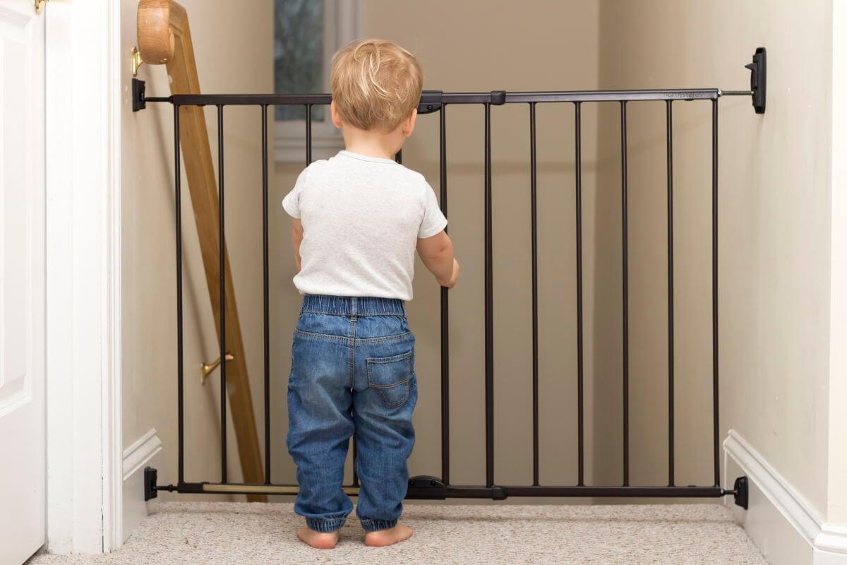 Børnegitter og sikkerhedsgitter