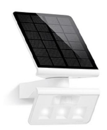 Steinel væg solcellelampe Xsolar L-S hvid.