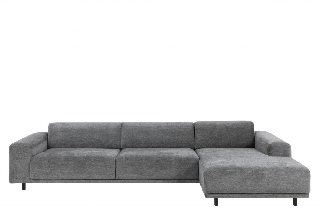Klassisk og stilren flyder sofa med chaiselong