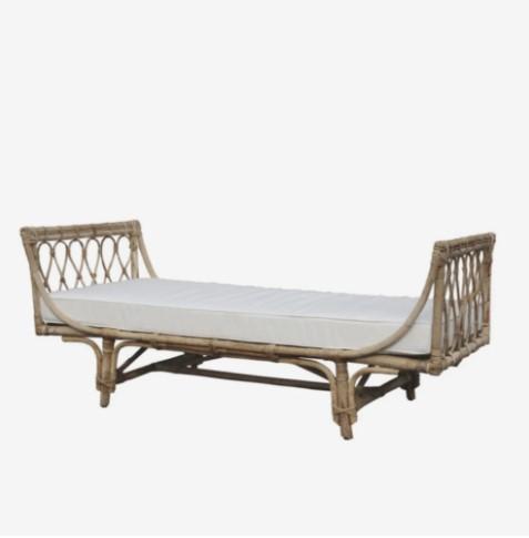 Rustik daybed til indendørs og udendørs brug