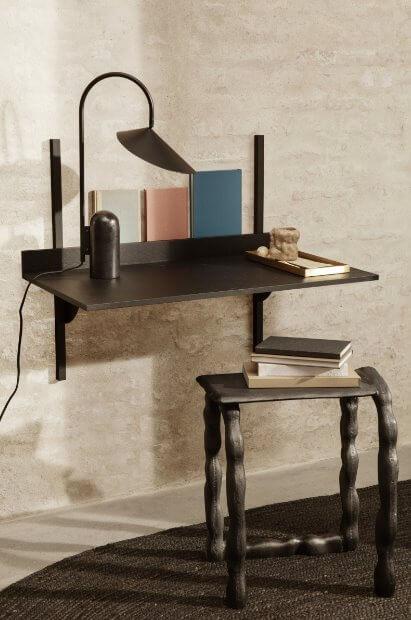 Ferm Living Sector Desk væghængt skrivebord