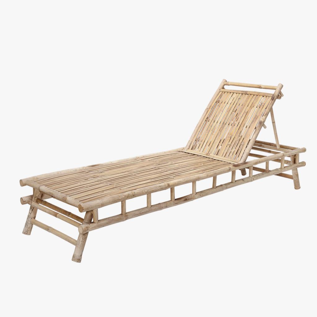 Smuk daybed i bambus til haven eller terrassen
