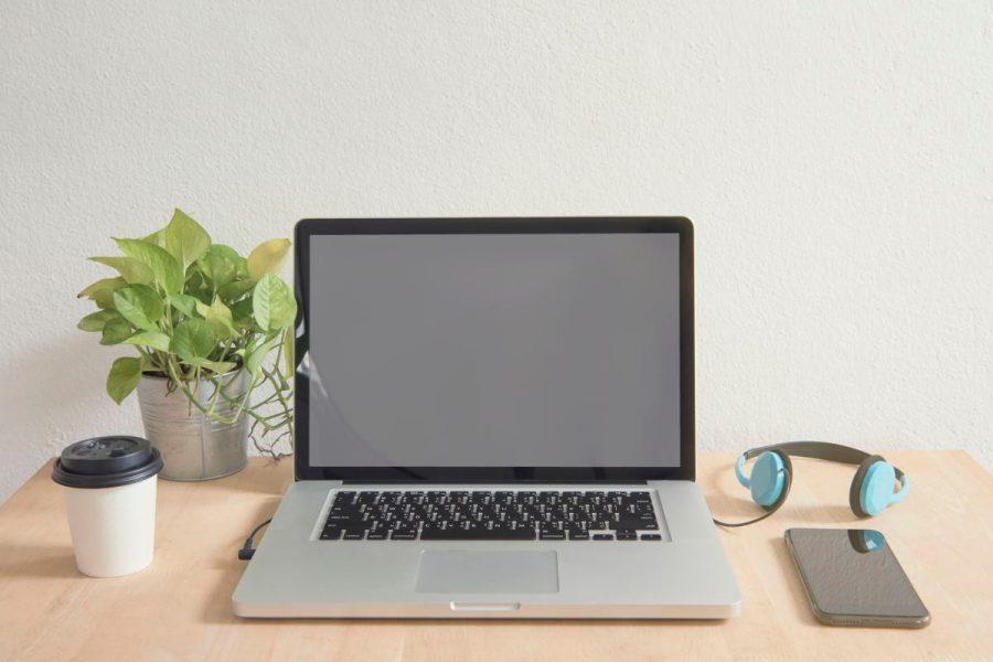 væghængt skrivebord