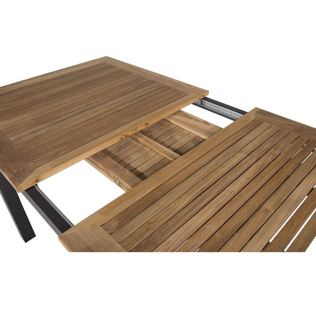 Stilfuldt havebord med udtræk