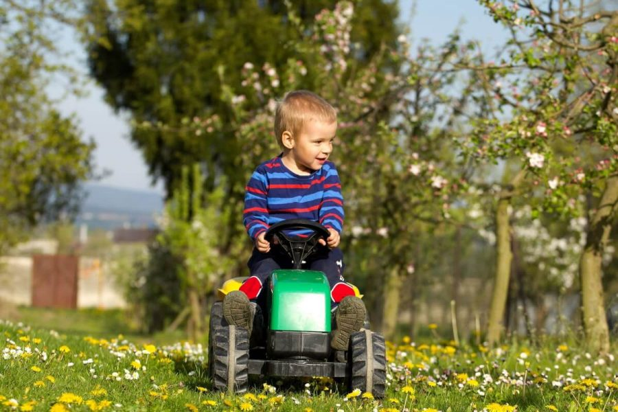 traktor til børn