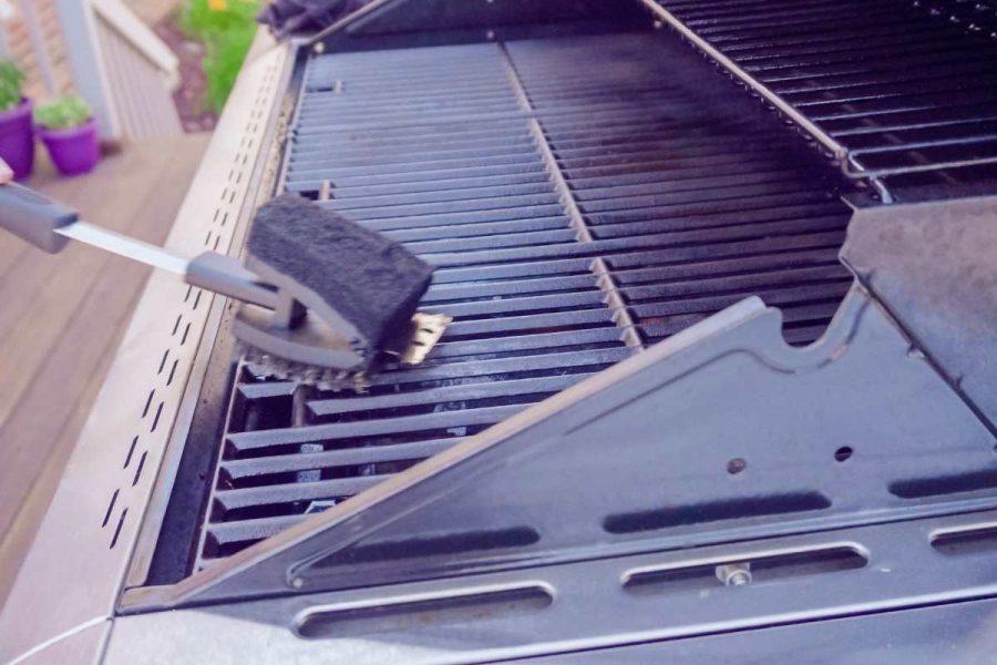 rengøring af grillrist