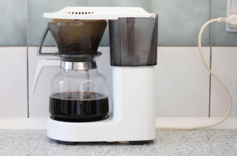 rengøring af kaffemaskine