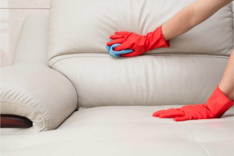rengøring af lædermøbler